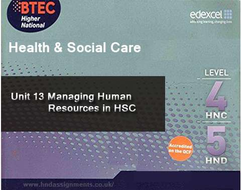 Managing Human Resources in HSC