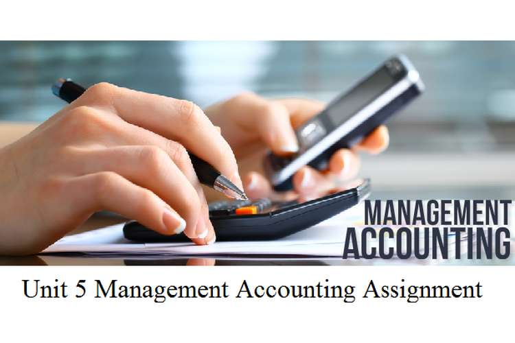Unit 5 Management Accounting Assignment