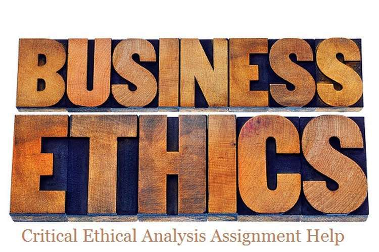 Critical Ethical Analysis Research Assignments Solution
