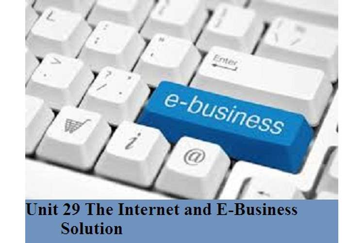 The Internet and E-Business Solution