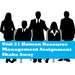 Unit 21 Human Resource Management Assignment Shake Away