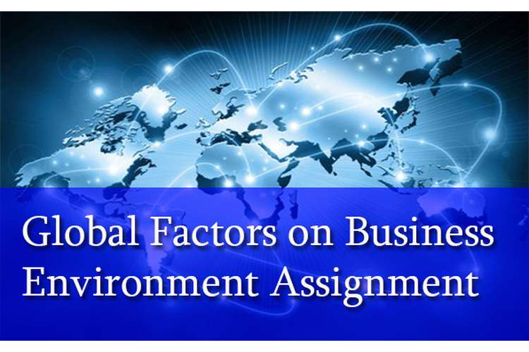 Global Factors Business Environment Assignment