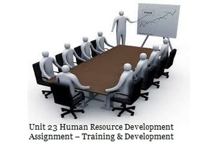 Unit 23 Human Resource Development Assignment Training Development