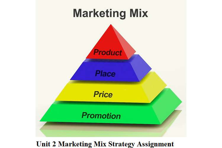 Unit 2 Marketing Mix Strategy Assignment