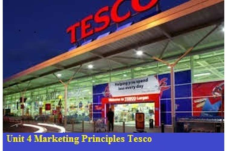 Unit 4 Marketing Principles Assignment Tesco Services