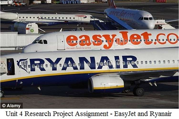 Unit 4 Research Project Assignment - EasyJet and Ryanair