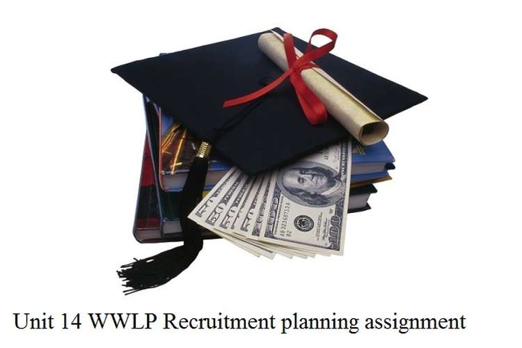 Unit 14 WWLP Recruitment planning assignment