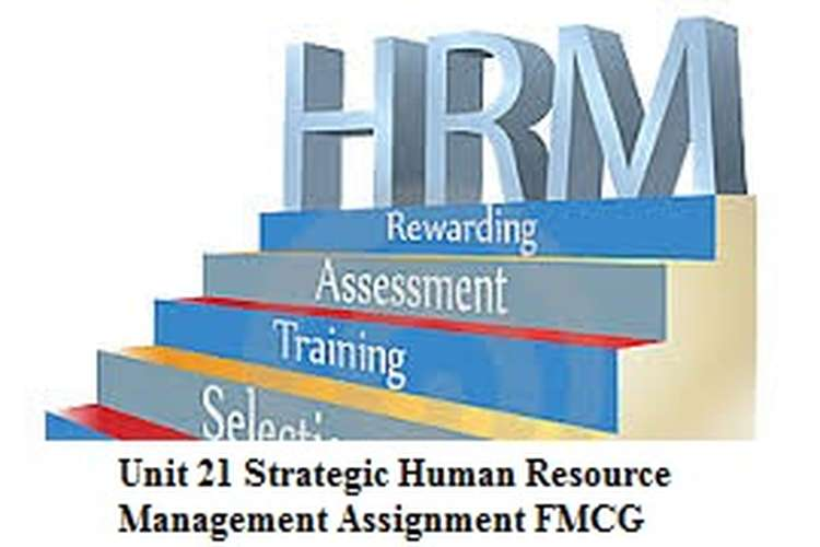 Unit 21 Strategic Human Resource Management Assignment FMCG
