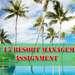 Unit 15 Resort Management Assignment