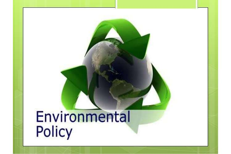 Introduction to Environmental Policy and Planning Oz Assignments