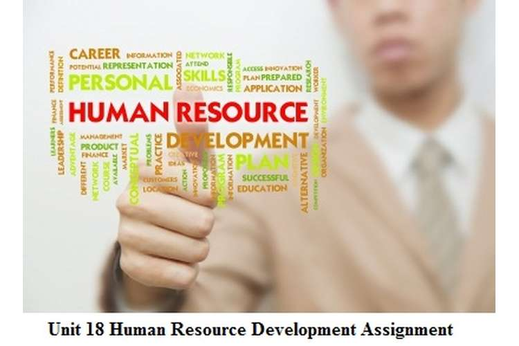 Unit 18 Human Resource Development Assignment