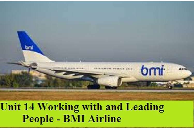 Working with and Leading People - BMI Airline