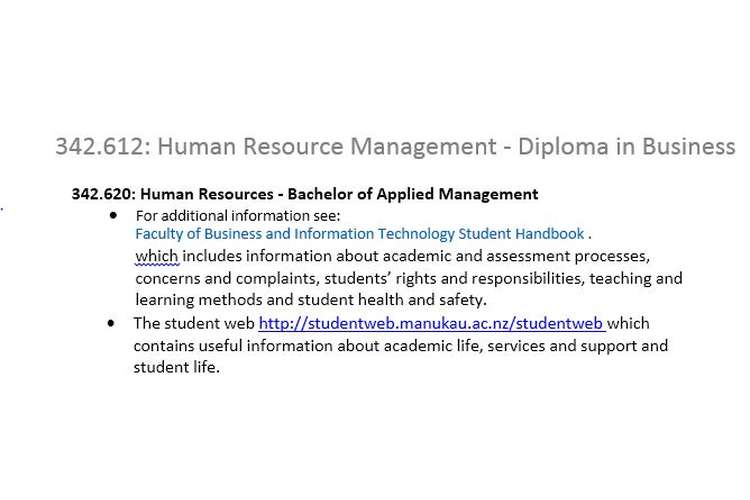 342612 Human Resource Management Assignment Brief