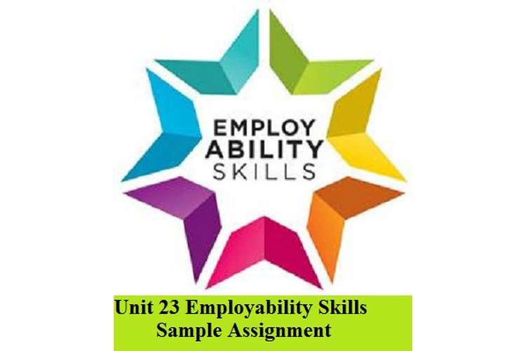 Employability Skills Sample Assignment