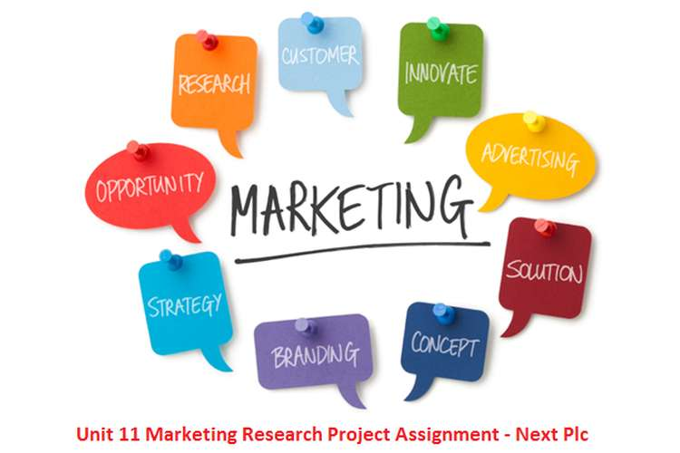 Unit 11 Marketing Research Project Assignment - Next Plc