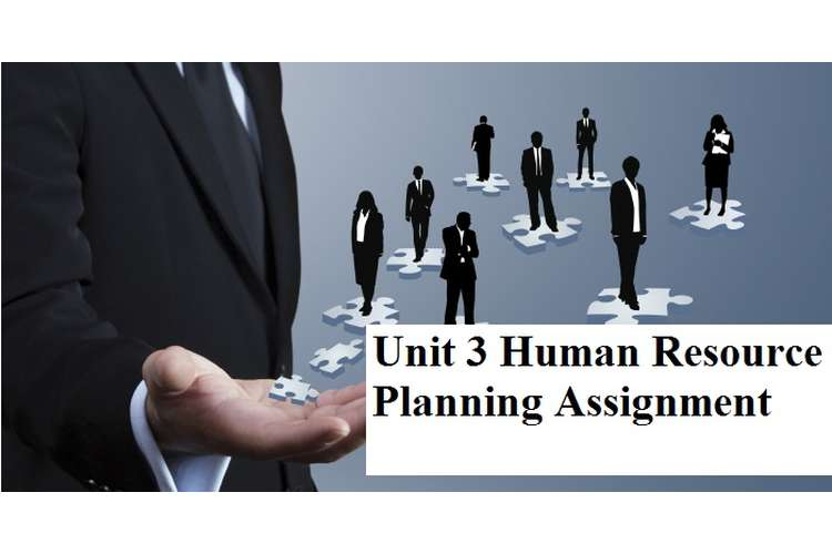 Unit 3 Human Resource Planning Assignment