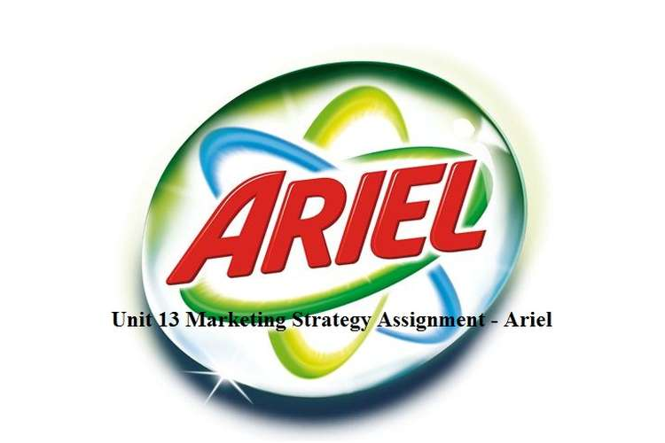 Unit 13 Marketing Strategy Assignment - Ariel