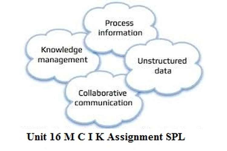 Unit 16 MCIK Assignment SPL