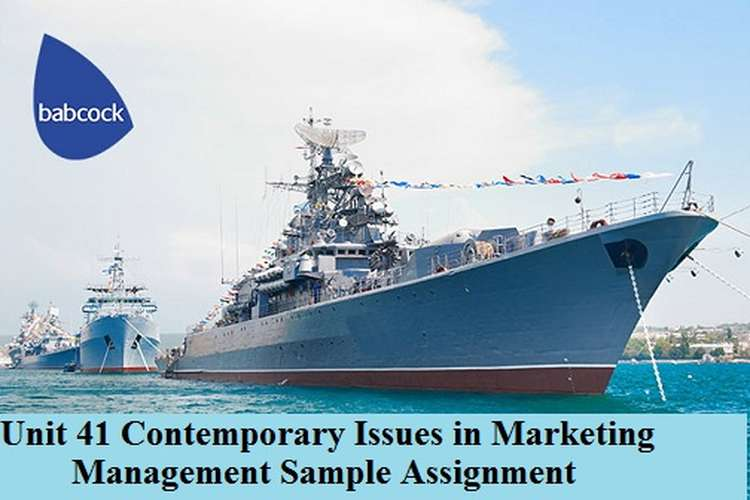 Contemporary Issues in Marketing Management Sample Assignment