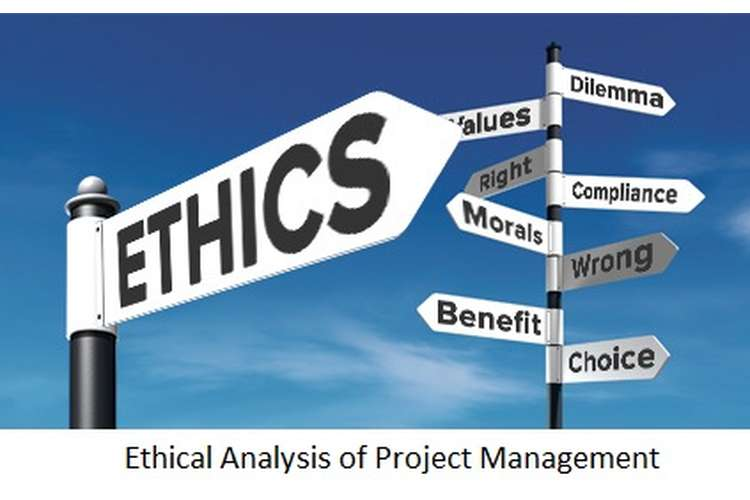 ethical analysis of project management assignment help