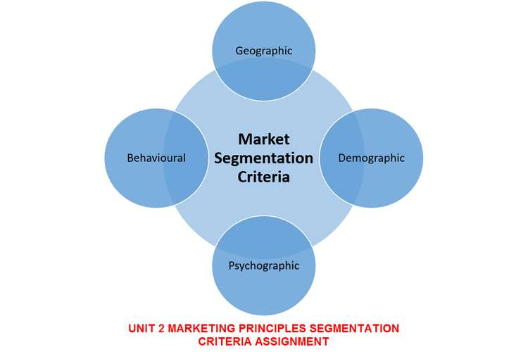 Marketing Principles Segmentation Criteria Assignment