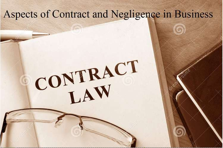 Aspects of Contract and Negligence in Business Assignment