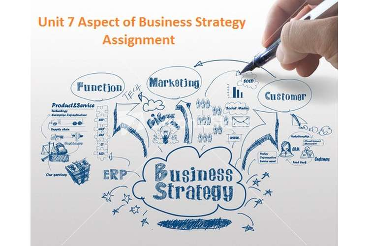 Unit 7 Aspect of Business Strategy Assignment
