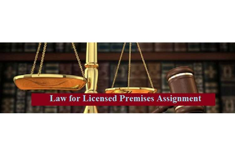 Law for Licensed Premises Assignment
