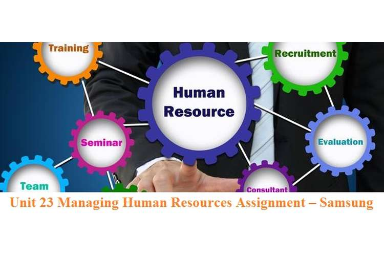 Unit 23 Managing Human Resources Assignment – Samsung