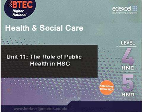 The Role of Public Health in HSC