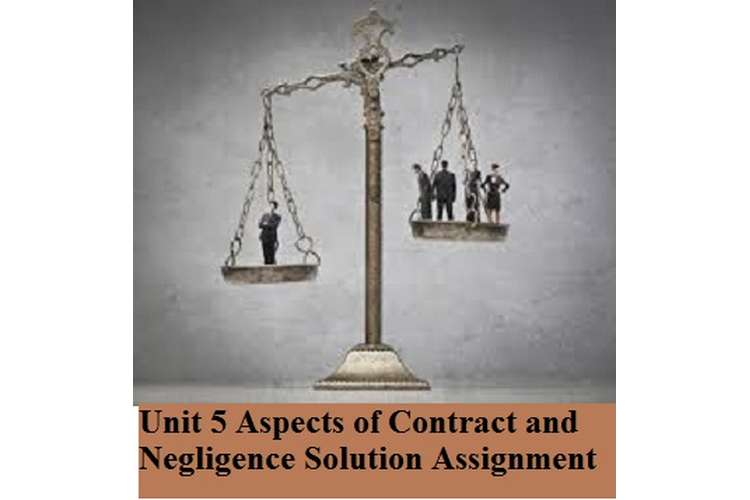Aspects of Contract and Negligence Solution Assignment