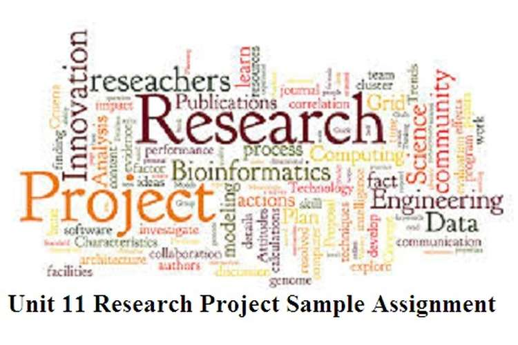 Research Project Sample Assignment