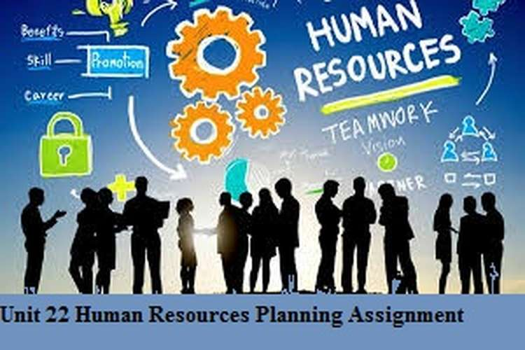 Unit 22 Human Resources Planning Assignment