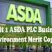Unit 1 ASDA PLC Business Environment Merit Copy