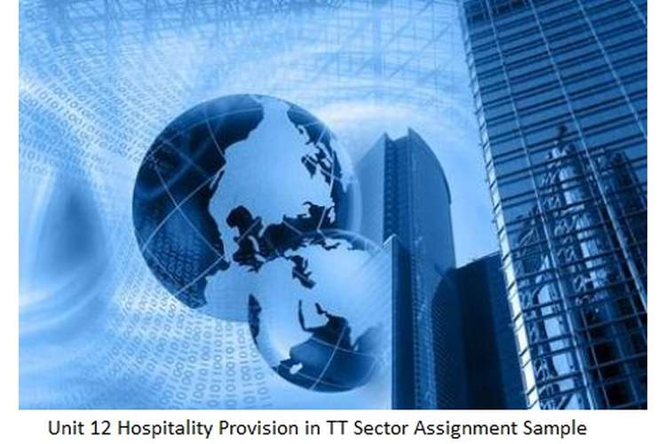 Unit 12 Hospitality Provision in TT Sector Assignment Sample
