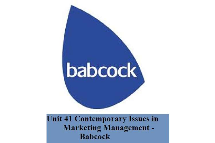 Contemporary Issues in Marketing Management Babcock