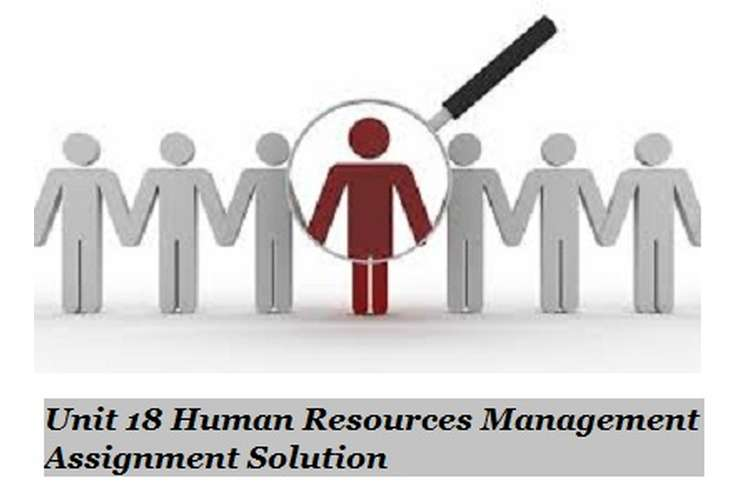 Human Resources Management Assignment Solution