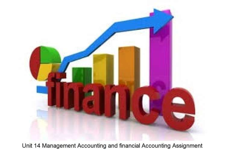 Unit 14 Management Accounting financial Accounting Assignment