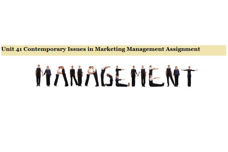 Contemporary Issues in Marketing Management Assignment