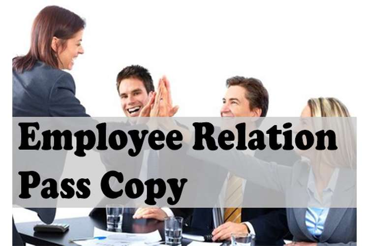Unit 20 Employee Relation Pass Copy