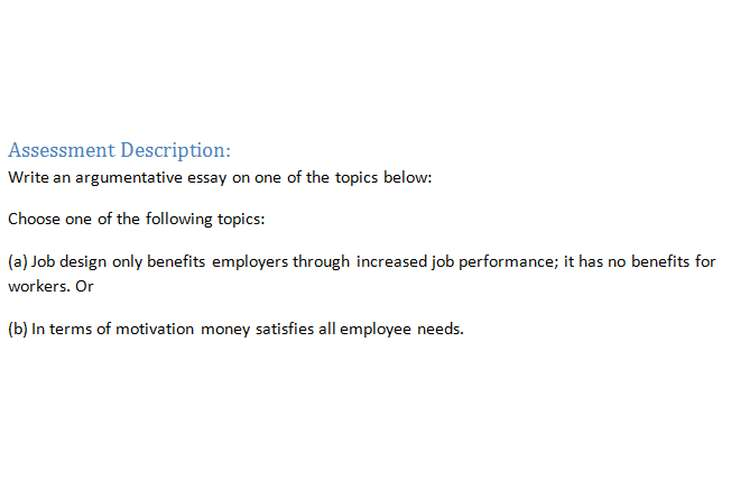 Organizational Behavior Assignment Brief