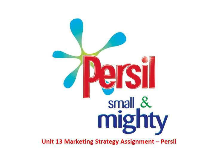 Unit 13 Marketing Strategy Assignment – Persil