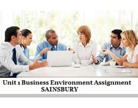 hnd level 4 business environment