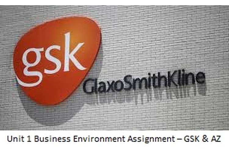Unit 1 Business Environment Assignment – GSK & AZ