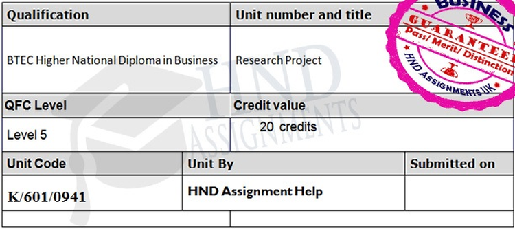 Unit 8 Research Project Report Assignment