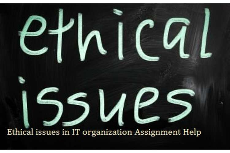 Ethical Issues in IT Organization Assignment Help