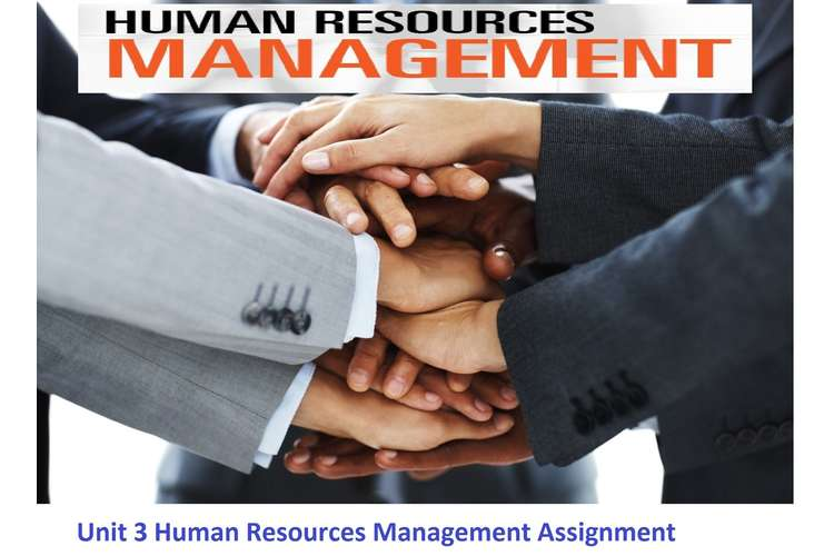 Unit 3 Human Resources Management Assignment