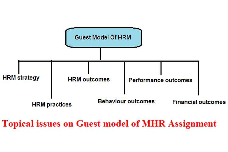 Topical issues on Guest model of MHR Assignment