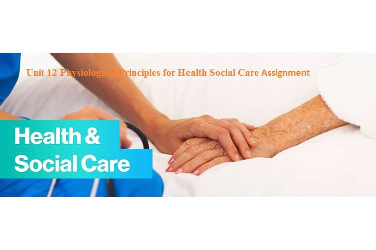 Unit 12 Physiological Principles for Health Social Care Assignment