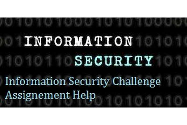 Information Security challenges Assignment Help
